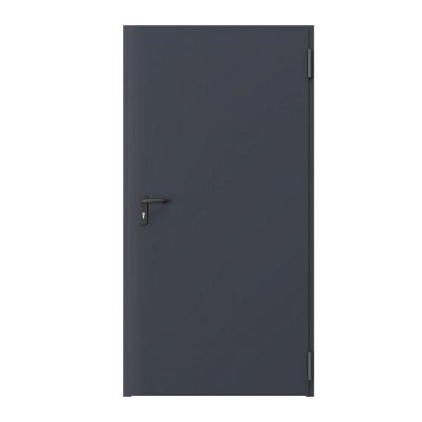 Дверь металлическая противопожарная одностворчатая EI60 ДМП 21-8 - 1