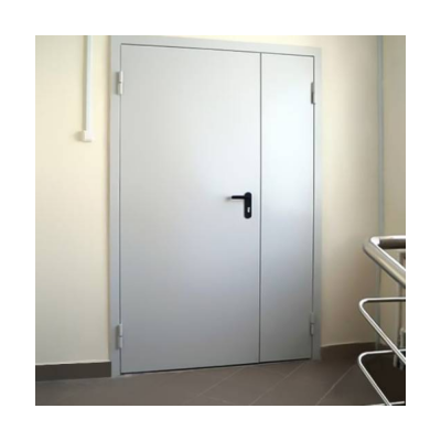 Дверь металлическая двухстворчатая ДМ 21-15