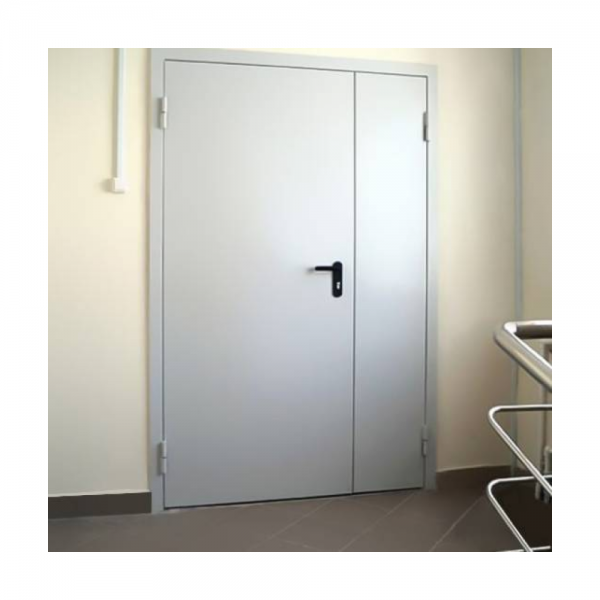 Дверь металлическая двухстворчатая ДМ 21-13 - 1
