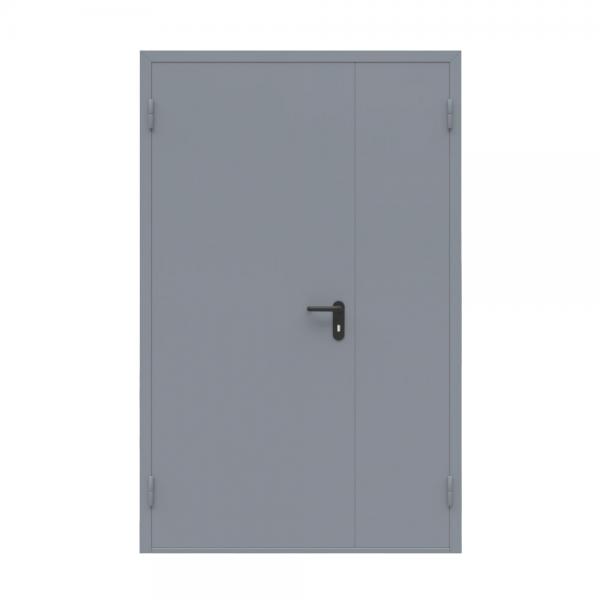 Дверь металлическая двухстворчатая ДМ 21-13 - 2