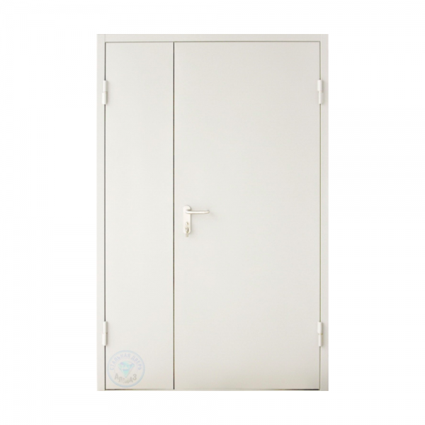 Дверь металлическая двухстворчатая ДМ 21-13 - 3