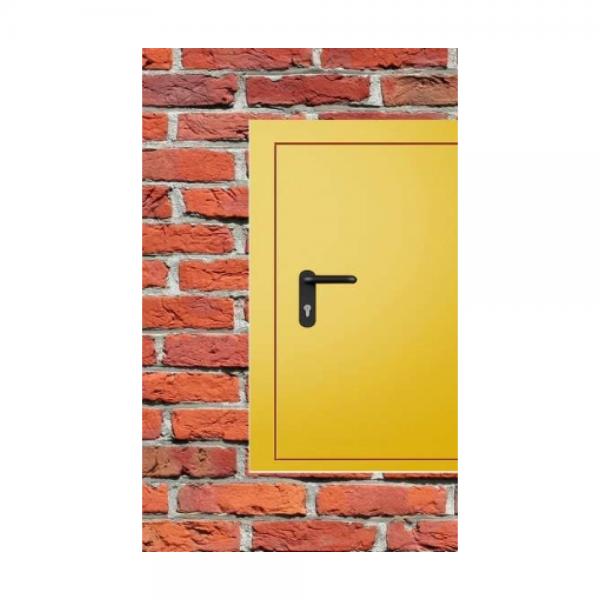 Дверь металлическая противопожарная одностворчатая EI30 ДМП 21-8 - 4