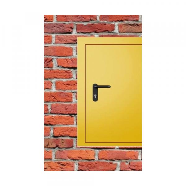 Дверь металлическая противопожарная одностворчатая EI30 ДМП 21-11.5 - 4