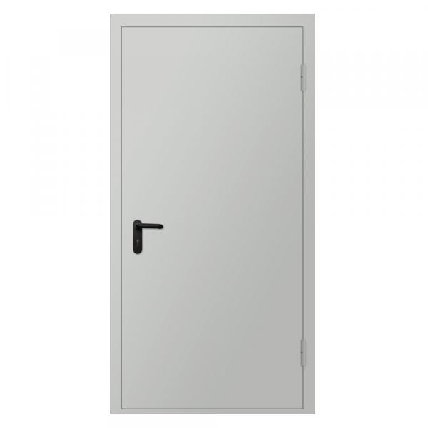 Дверь металлическая противопожарная одностворчатая EI30 ДМП 21-11.5 - 1