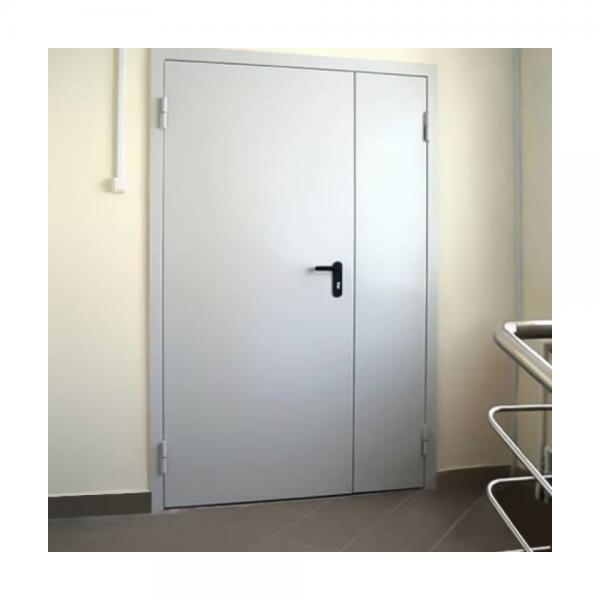 Дверь металлическая противопожарная двустворчатая EI30 ДМП 21-12 - 2