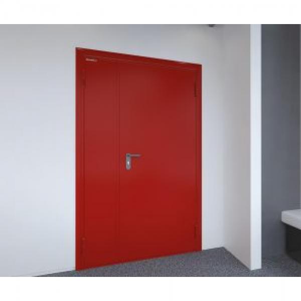 Дверь металлическая противопожарная двустворчатая EI30 ДМП 21-12 - 3