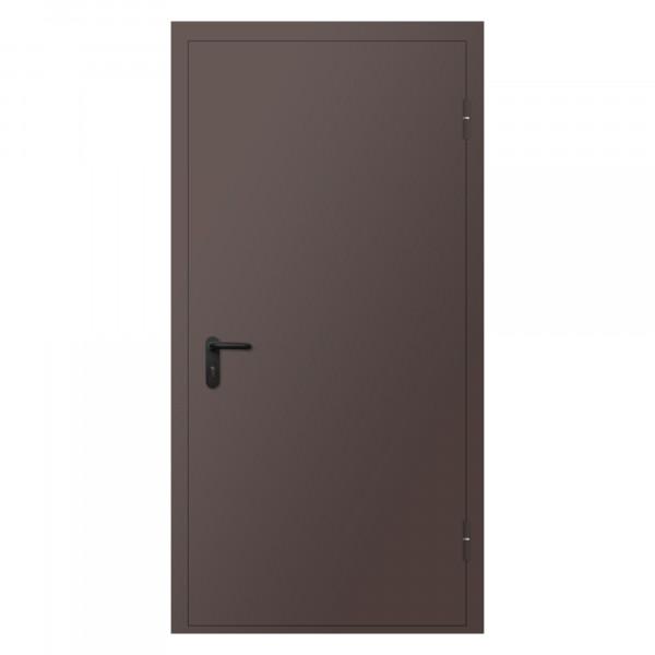 Дверь металлическая противопожарная одностворчатая EI45 ДМП 21-10 - 1