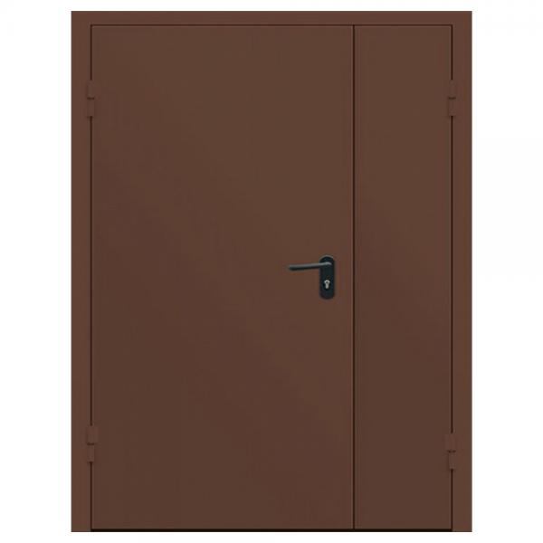 Дверь металлическая противопожарная двустворчатая EI45 ДМП 21-15.5 - 1