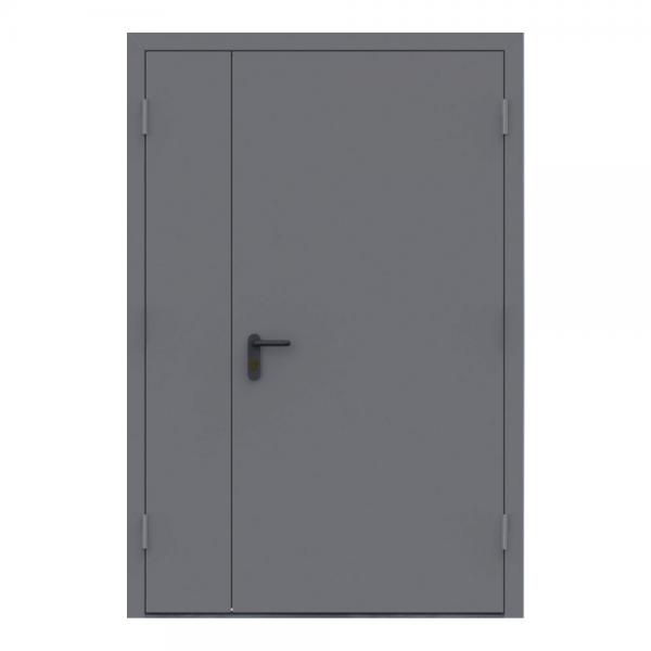 Двері протипожежні двостулкові EI60 ДМП 21-12 - 1