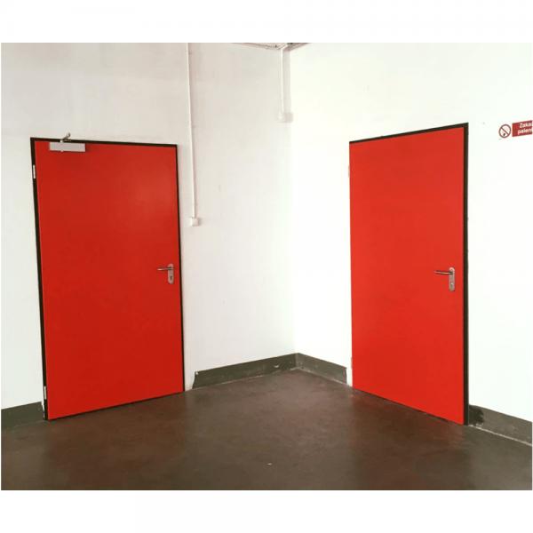 Дверь металлическая противопожарная одностворчатая EI60 ДМП 21-8 - 2