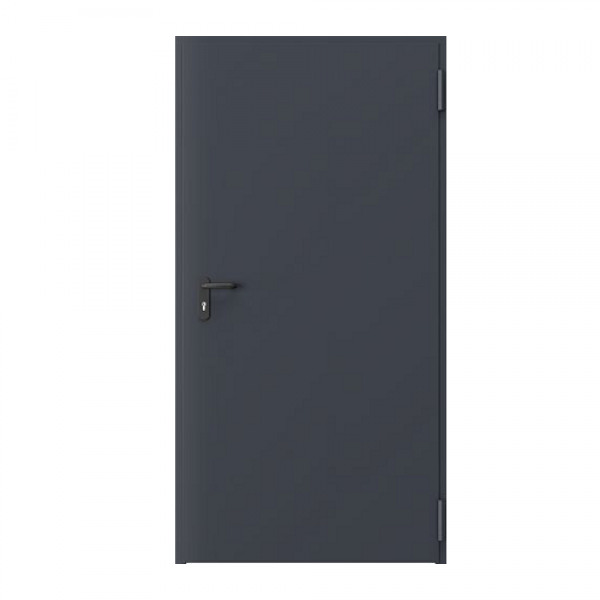 Дверь металлическая противопожарная одностворчатая EI60 ДМП 21-10 - 1